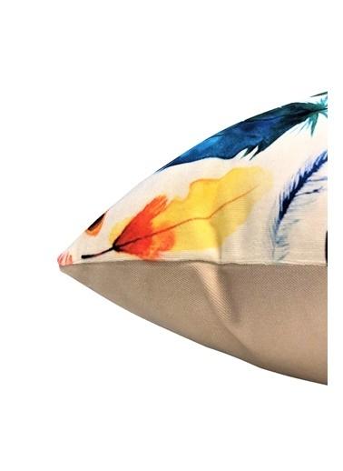 Alla Turca 2'li Dekoratif Kırlent Kılıfı - AT5562-2 Renkli